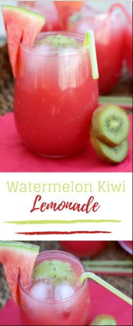 The Perfect Watermelon Lemonade #lemonade #watermelon #drink | RECIPES 9