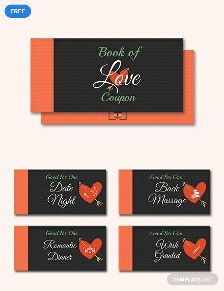 Free Romantic Love Coupon Book