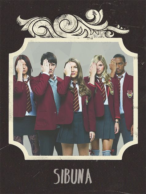 The is the true Sibuna. It started with Nina, Fabian, and Amber. Then Patrica, and Alfie.
