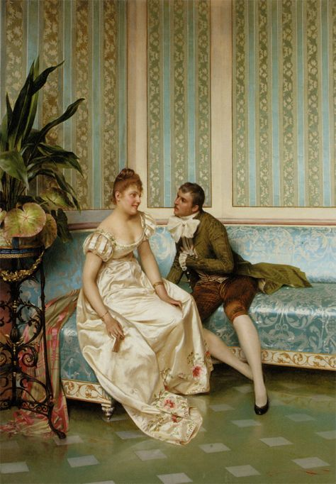 Proposition :: Frederic Soulacroix - Romantic scenes in art and painting