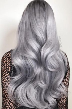 Metallic hair was major in especially after Guy Tang launched his metallic hair dye line.