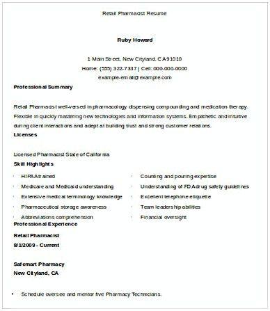 Retail Pharmacist Resume Pharmacy Manager Resume If You Are Applying For Pharmacy Manager Read This Pharmacy Manager Resu Manager Resume Resume Management