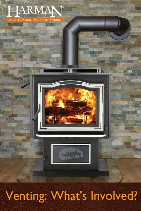 Venting What S Involved With Images Wood Pellets Stove Fireplace Inserts