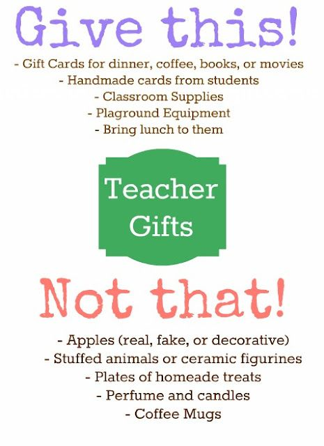 Teachers - what would you add?