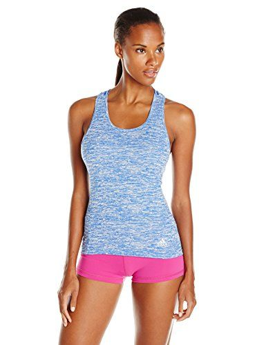 ADIDAS Damen Fitness Crop Top Techfit rot | XS