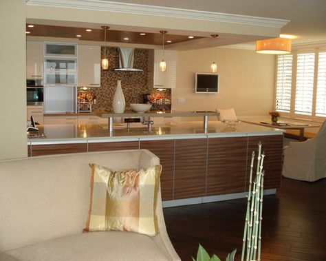 Contemporary Kitchen Zen Design Pictures Remodel Decor And