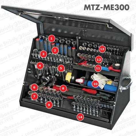 9eeaafdf49d Montezuma Professional Portable Tool Box - ME300B - Medium (30