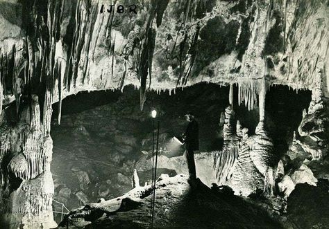 A journey under the earth as Jo Blythe discovers cave
