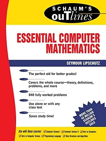 Pdf Free Schaum S Outline Of Essential Computer Mathematics Schaum S Outline Series Mathematics Partial Differential Equation Calculus