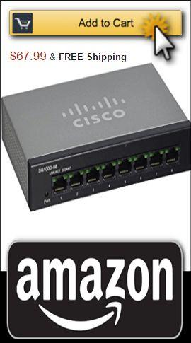 SG100D 08 NA 8 Port Gigabit Switch