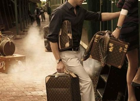 eaf5c805b48 A trip on the Orient Express with Louis Vuitton luggage