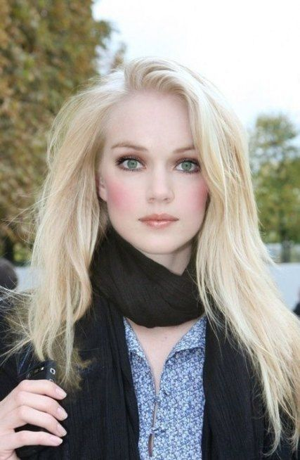 Pale Skin And Blonde Hair