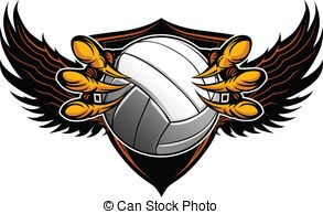 Volleyball Clipart Vector And Illustration 14 994 Volleyball Clip Art Vector Eps Images Available To Search From T Eagle Mascot Eagle Claw Vector Illustration