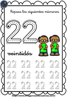 Completo Cuaderno Para Repasar El Trazo Numeros Del 1 Al 30 22
