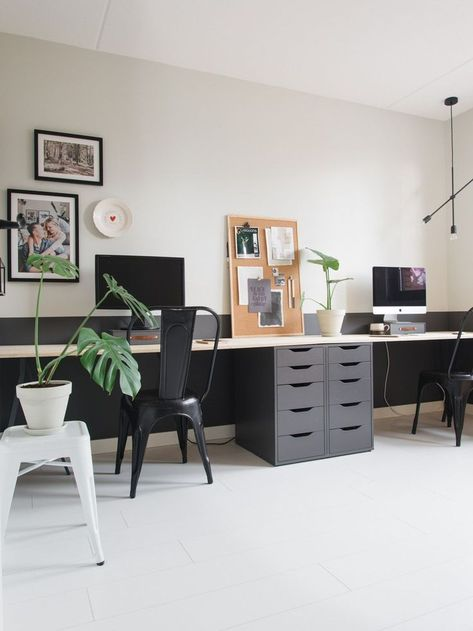 Über 20 Möglichkeiten, um auf kleinem Raum einen stilvollen Bürobereich zu schaffen