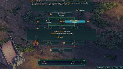 Fell Seal Arbiter S Mark Day 2 Classless Strategy Final Fantasy Tactics Strategies Backstab