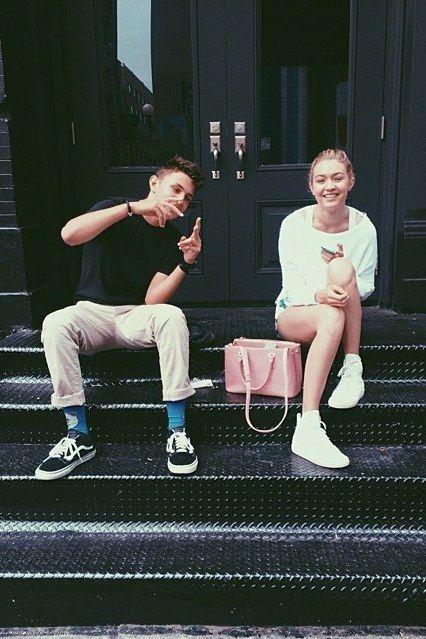 Best Gigi Bella Anwar Hadid Throwback Instagrams: 35 Times Gigi, Bella, and Anwar Hadid Were Total Sibling Goals   Teen Vogue