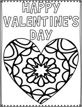 Valentine S Day Coloring Pages Valentines Day Coloring Valentines Day Coloring Page Friends Valentines Day