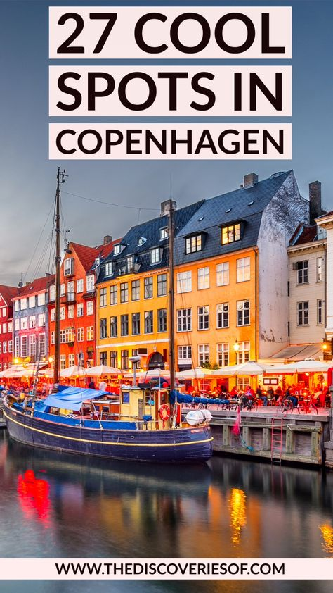 Visiting Copenhagen and not sure what to do? Check out this guide to the best things to do in Copenhagen. 27 cool things to do in Copenhagen, Denmark #travel #copenhagen #denmark #inspiration Copenhagen style I Copenhagen food I Copenhagen travel