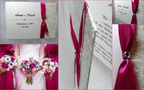 Zaproszenie Zaproszenia Slubne Koronka 2 5900818579 Allegro Pl