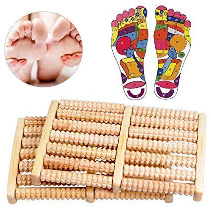 Rouleau De Massage Des Pieds Rouleau De Massage En Bois Relaxation Et Soulagement Des Douleurs De Pieds Tal Rouleau De Massage Voute Plantaire Massage Pieds