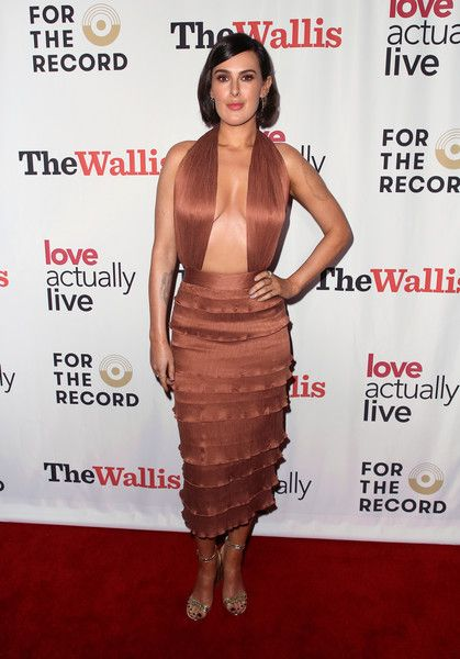 Rumer Willis attends the 'Love Actually Live' opening night reception at the Wallis Annenberg Center for the Performing Arts.