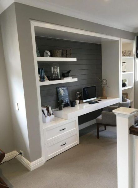 20 Astonishing Small Home Office Design Ideas To Try Today Home Office Design Home Office Space Small Home Office