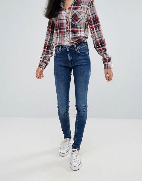 2ea08c48fa3 Pepe Jeans Regent Skinny Jeans - Blue