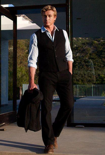 Mentalist star Simon Baker: The charm is no act - CBS News