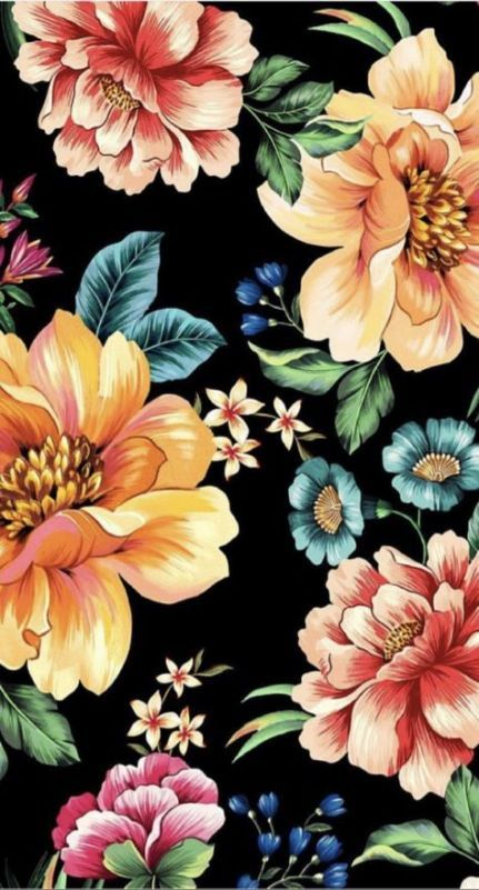 49 Ideas For Flowers Design Pattern Draw Wallpapers flowers
