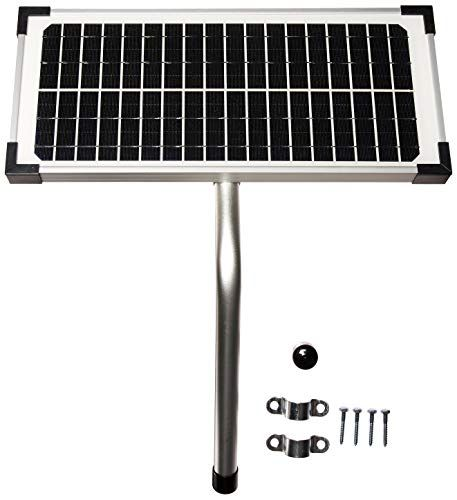 10 Watt Solar Panel Kit Fm123 For Mighty Mule Automatic Gate Openers Solar Panel Kits Solar Panel Installation Best Solar Panels