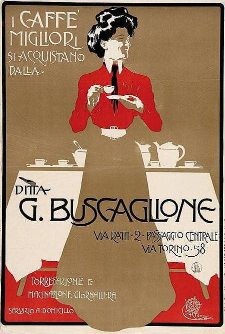 Aleardo Terzi, ca.1905, Ditta G. Buscaglione, Caffè. (I)