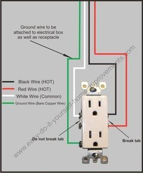 Need A Split Plug Wiring Diagram To Make Your Job Easier You Found One Home Electrical Wiring Basic Electrical Wiring Electrical Wiring