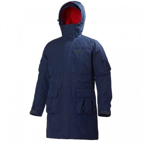 Helly Hansen Men's 3 in 1 Rigging Coat, Evening Blue, X