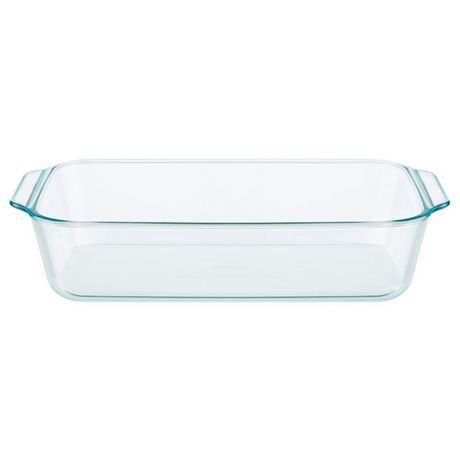 Pyrex Pyrex Glass 9x13 Deeper Baking Dish Clear Baked Dishes