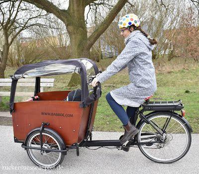 Mit dem Baby im Lastenfahrrad fahren | Kinder basteln für