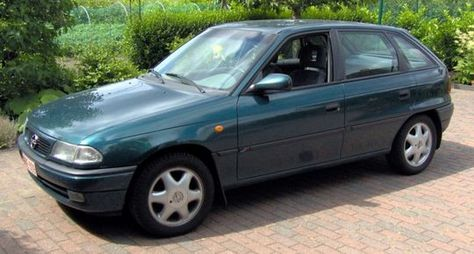 Opel Astra 17d Opel Astra