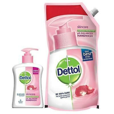 Details About Dettol Ph Balanced Handwash Refill Skincare And