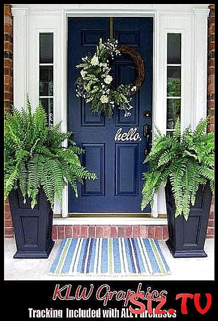 48 Ideas For Front Door Entrance Decor Curb Appea Appeal