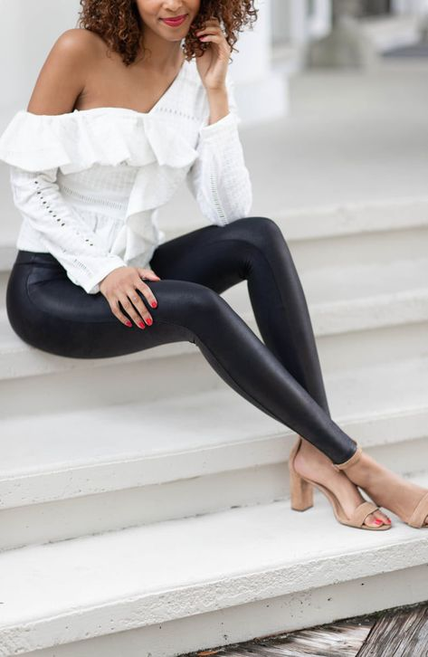 These best-selling faux-leather leggings are a must-have staple for your closet.