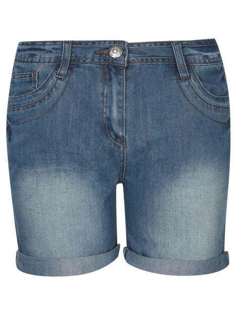 amazing selection well known los angeles Mid Wash Denim Shorts- £10- ASDA, George | Denim shorts, Shorts ...