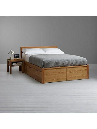 House By John Lewis Ollie Storage Bed King Size Oak King