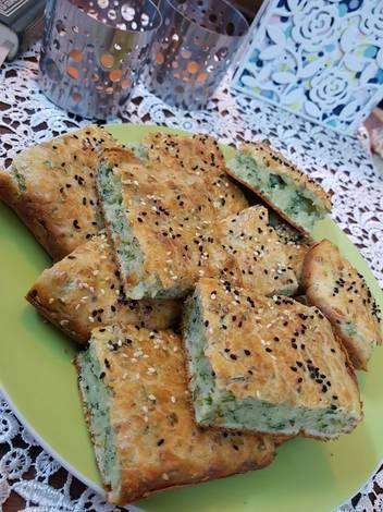 كيكة البقدونس المالحة بالصور من Luma F A Recipe Food Food And Drink Cooking