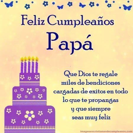 Fotos De Feliz Cumpleaños Papa Para Facebook