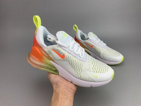 Nike Air Max 270 women's Running Shoes WhiteBlue