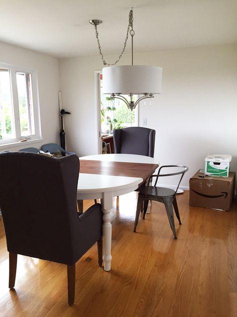 Light Fixture In Dining Room