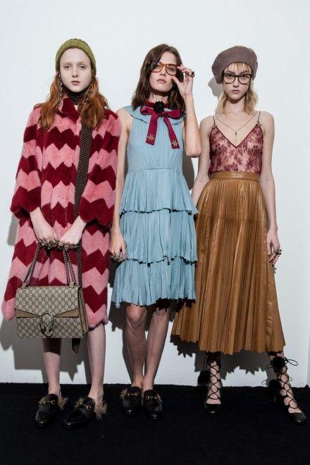 Gucci Fall 2015 Ready-to-Wear Fashion Show Beauty