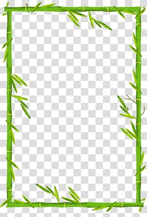 Bamboo Bamboo Border Bamboo Frame Illustration Transparent Background Png Clipart Flower Frame Transparent Background Bamboo Frame