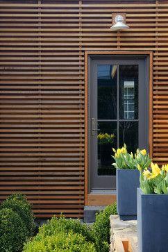 Wood Slat Rainscreen House Cladding Exterior Wall Cladding Wood Siding Exterior