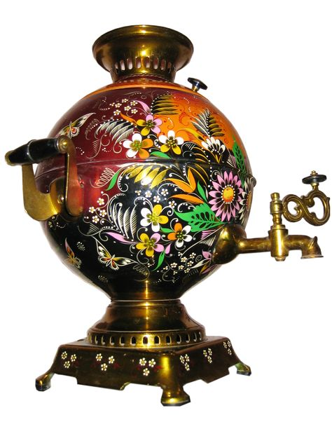 The Samovar is a tool used both to boil water for preparing tea, as well as…